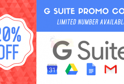 G Suite Promotional codes