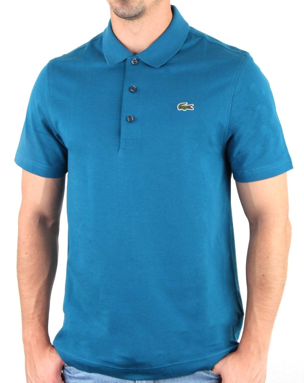 Lacoste Polo Shirt Bright Blue