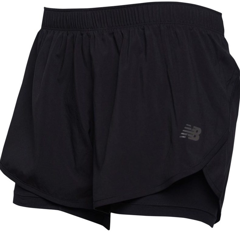 New Balance Womens Relentless 2in1 Running Shorts