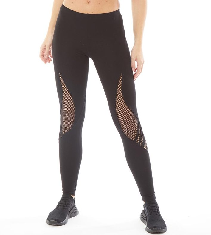 Womens Lux Track Jersey Leggings