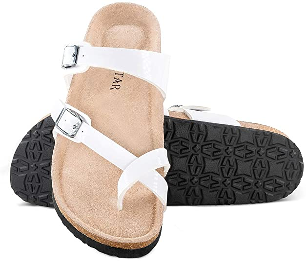 Adjustable Flat Casual Slippers