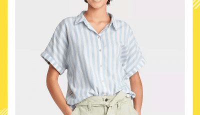 Top Short Sleeves Button Down Shirts
