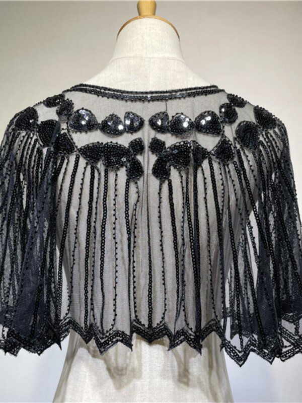 Evening Dress Sequined Lace Female Shawl